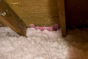 New Insulation installed in  attic