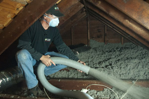 Cellulose Insulation Installation In Eastern New England